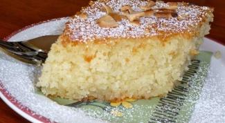Как приготовить пирог манник на кефире