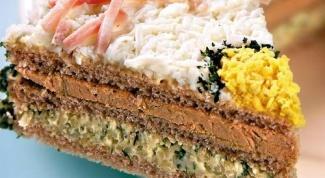 Торт бутербродный