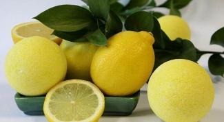 Домашний помощник: лимон