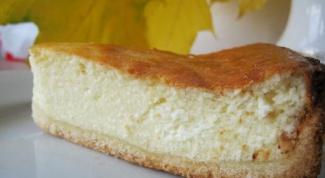 Как приготовить песочно-творожный пирог с яблоками