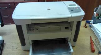 Как разобрать лазерный принтер HP LaserJet M1120 MFP (руководство)