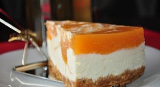 How to cook cheesecake-sponge cake