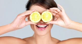 Лимон против черных точек