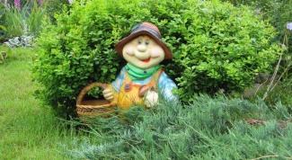 Как сделать садовые фигуры своими руками