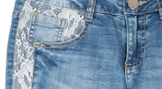 Как отреставрировать старые джинсы?