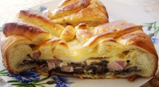 Вкусный пирог с грибами: как приготовить
