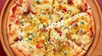 Как приготовить пиццу по-домашнему на кефире?