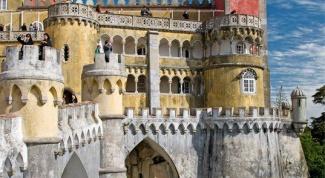Отдых в Португалии. Город Синтра