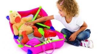 Какие вещи нужно взять для ребенка в отпуск