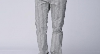 Мужские брюки в полоску