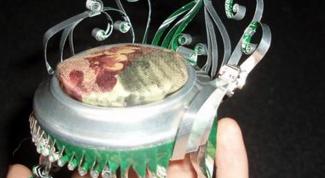 Кукольный уголок из алюминиевых банок
