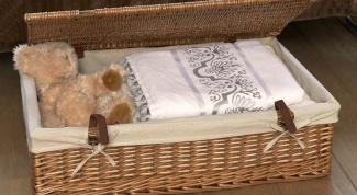 Плетеные корзины в интерьере – идеальны для хранения вещей