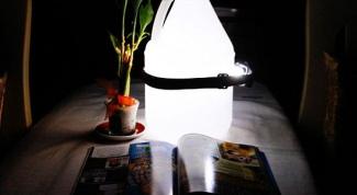 Как сделать потративную лампу для чтения