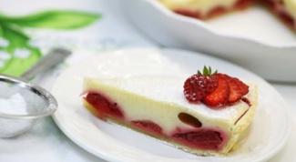 Как испечь клубничный пирог