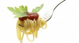 Учимся правильно готовить спагетти