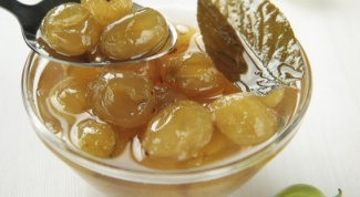 The gooseberry jam
