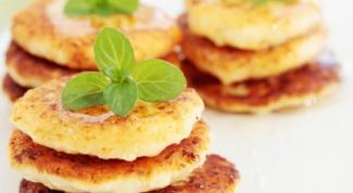 Картофельные котлеты с грибной подливкой