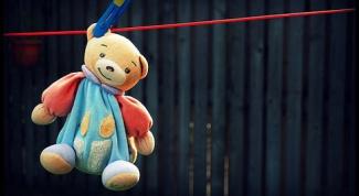 Как почистить или постирать детскую игрушку