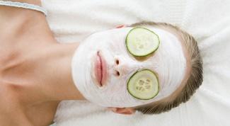 Маски для лица из овощей
