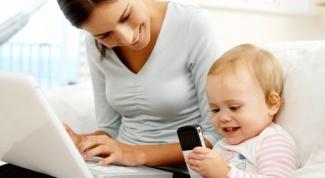 Работа на дому для молодой мамы