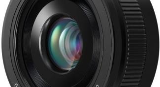 Новый тонкий объектив от Panasonic