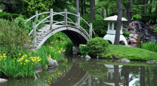 Садовые мостики в ландшафтном дизайне