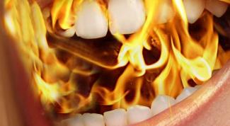 Burning sensation of the tongue