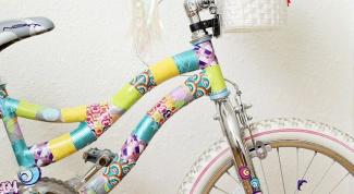 Как красиво украсить свой велосипед