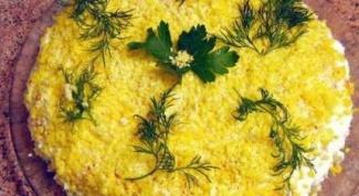 Осенний грибной салат