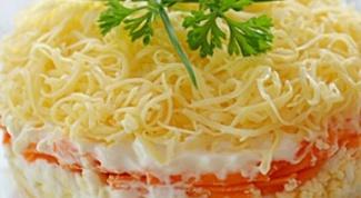 Как порадовать салатом