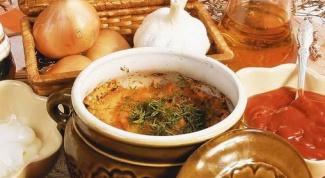 Как приготовить щи из квашеной капусты в аэрогриле