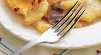 Как приготовить грибы с картофелем в аэрогриле