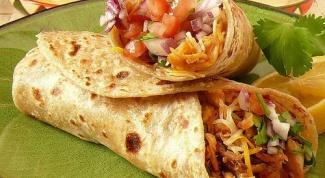Как приготовить мексиканские буритос с красной фасолью