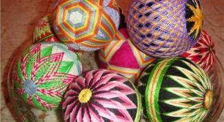 Темари - японская техника по вышивке шаров