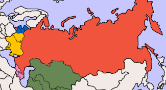 In what year the Soviet Union collapsed and the States