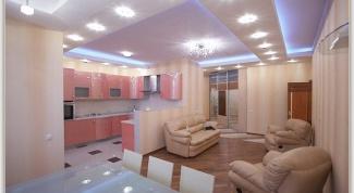 Как установить потолочные светильники в гипсокартон