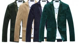 С чем носить вельветовый пиджак
