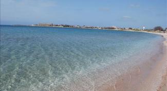 Где на Черном море каменистые пляжи, а где песчаные