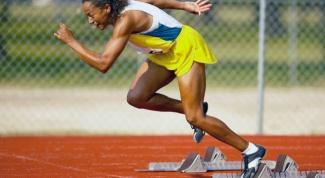 Почему низкий старт при спринте эффективней, чем высокий