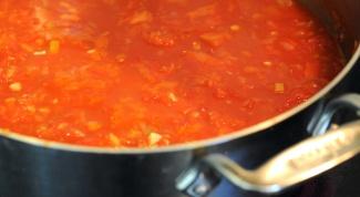 Как приготовить томатный суп по-тоскански