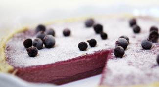 Как приготовить смородиновый пирог