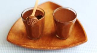 Рецепт приготовления шоколадного мусса
