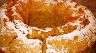 Как быстро испечь кекс «Снежинка»