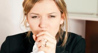 Сухой кашель: боремся с ним