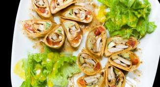 Как делать блинный салат