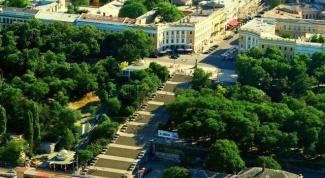 Какие интересные места есть в Одессе