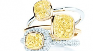 Какие есть драгоценные камни желтого цвета