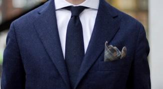 Как выбрать нагрудный платок к мужскому костюму