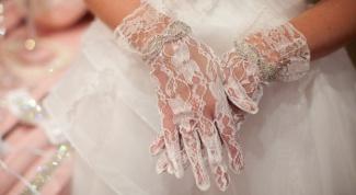 Куда и с чем носить кружевные перчатки