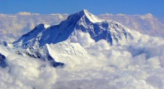 Где находится гора Эверест